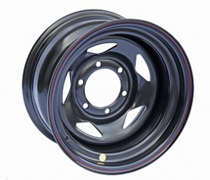 Диск Off-Road-Wheels TOYOTA/NISSAN/MITSUBISHI 10.0x17 6x139.7 ET-40 D110 Black